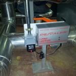 Instalación descaler ps-100 caldera