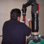 Instalando Descaler ps-50 en calderas ACS 2