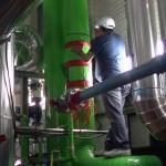 Instalando descaler ps-400 entrada principal planta