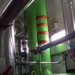 Instalación descaler ps-400 entrada principal planta